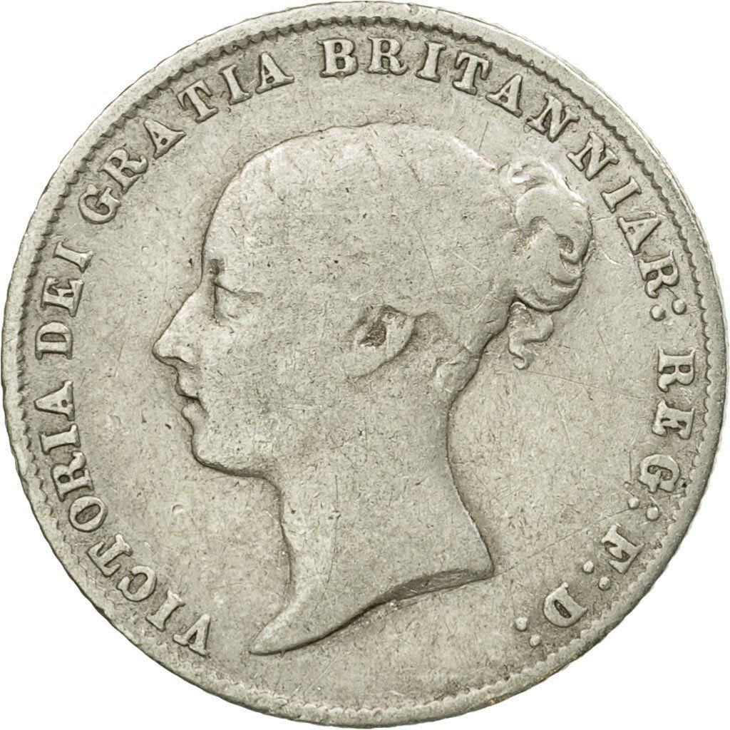 Sixpence 1859: Photo Coin, Great Britain, Victoria, 6 Pence, 1859
