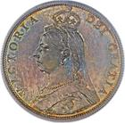 United Kingdom / Florin 1887 Jubilee - obverse photo
