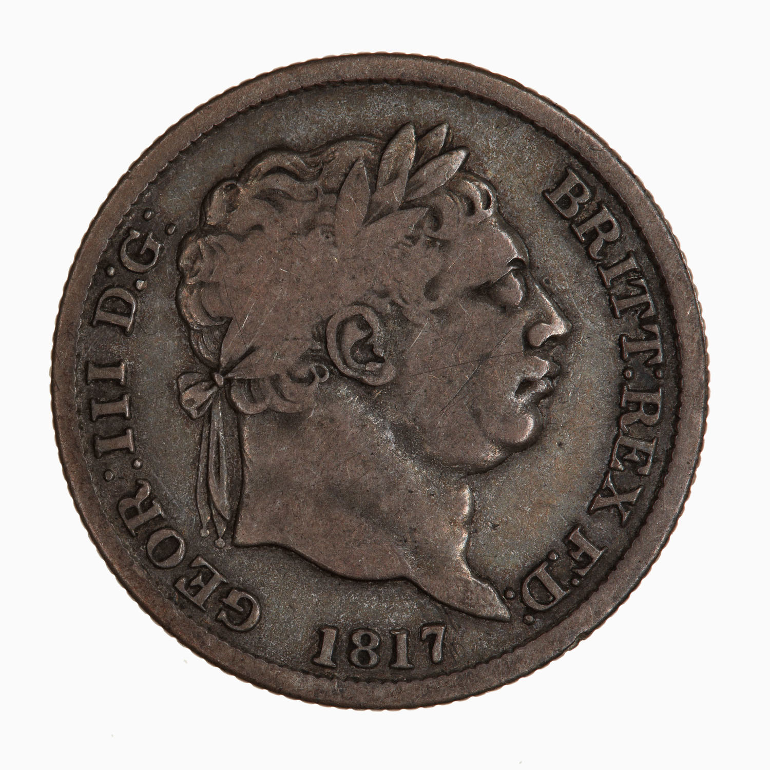 Shilling 1817: Photo Coin - Shilling, George III, Great Britain, 1817