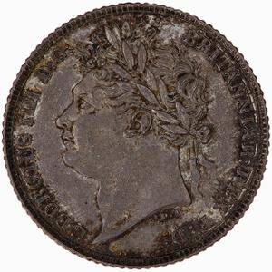 United Kingdom / Sixpence 1821 - obverse photo