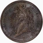 United Kingdom / Threepence 1828 (Maundy) - obverse photo
