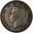 United Kingdom / Two Shillings (Florin) 1941 - obverse photo