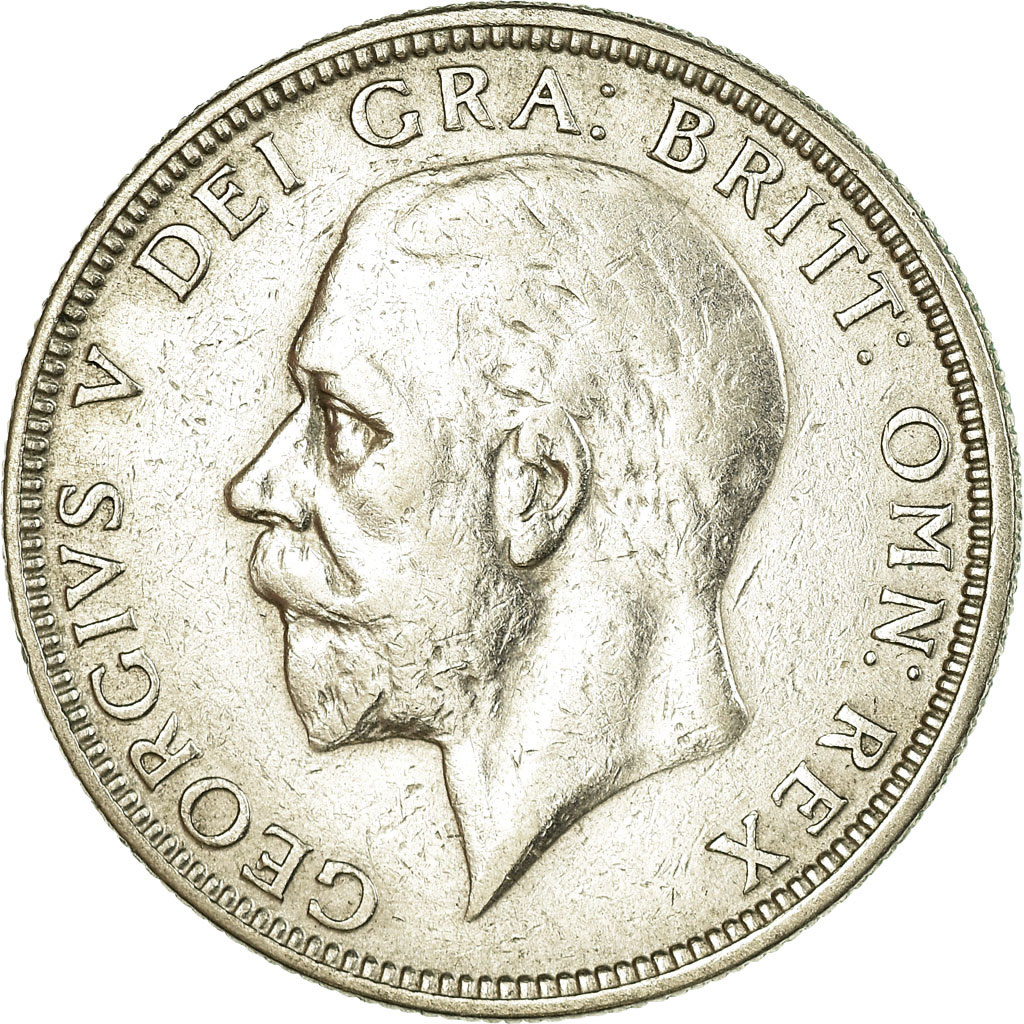 Florin 1929: Photo Great Britain, Florin, Two Shillings, 1929