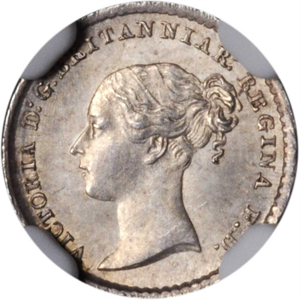 Maundy Penny (Pre-decimal): Photo Great Britain 1868 penny KM-727