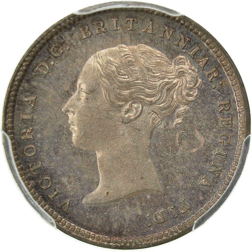Fourpence 1871 (Maundy): Photo Coin, Great Britain, Victoria, 4 Pence, Groat, 1871