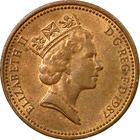 United Kingdom / One Penny 1987 - obverse photo
