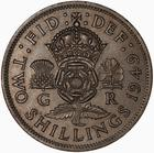 United Kingdom / Two Shillings (Florin) 1949 - reverse photo