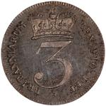 United Kingdom / Threepence 1818 (Circulating) - reverse photo