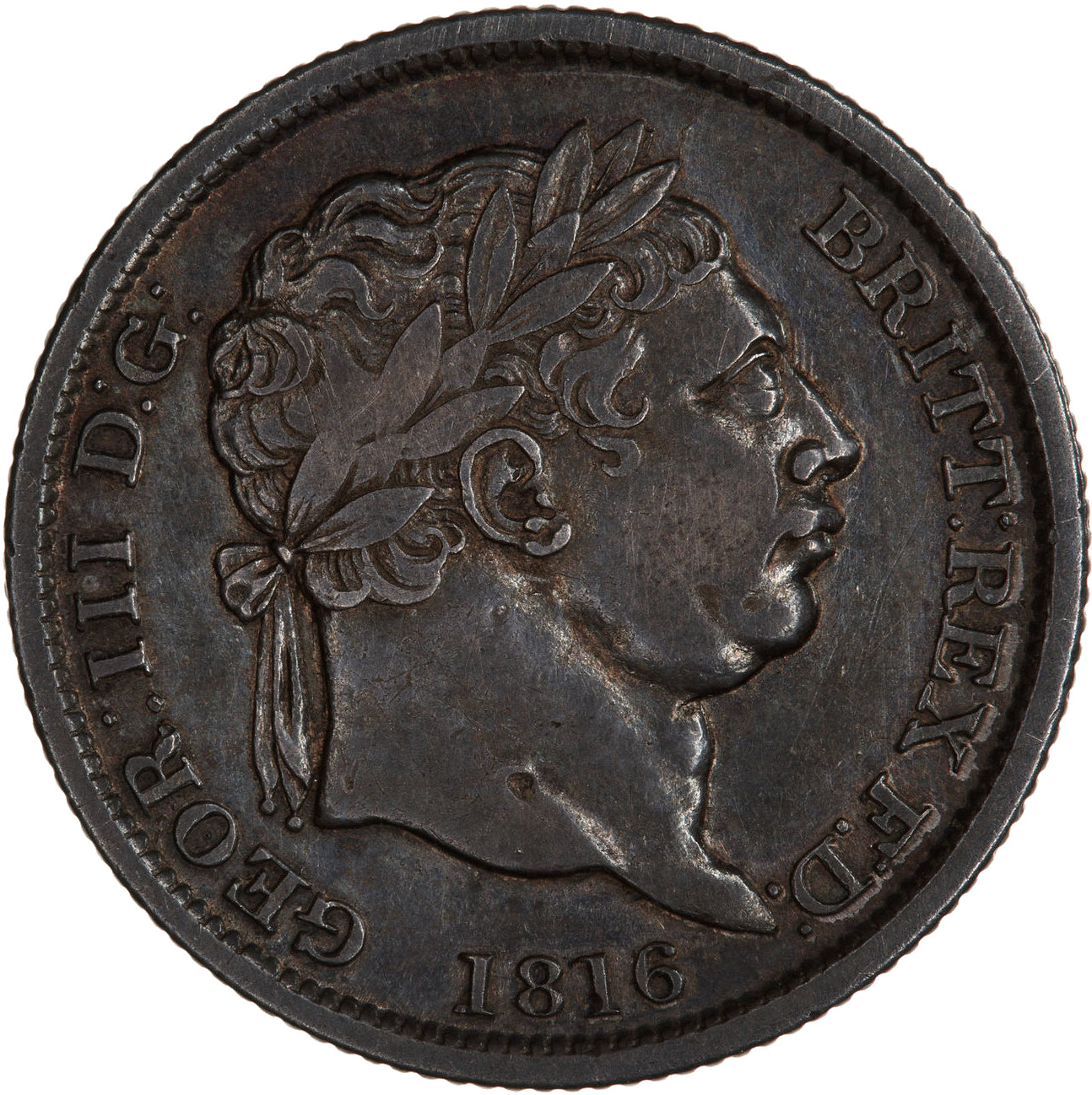 Shilling 1816: Photo Coin - Shilling, George III, Great Britain, 1816