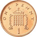 United Kingdom / One Penny 1998 - reverse photo