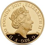 United Kingdom / Gold Five Ounces 2017 WW1 Centenary - obverse photo