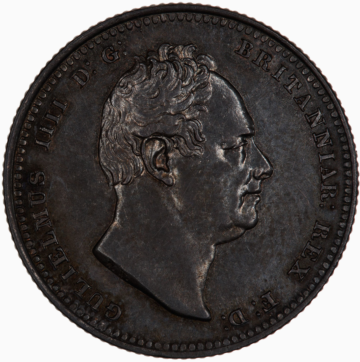 Shilling 1835: Photo Coin - Shilling, William IV, Great Britain, 1835