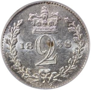 United Kingdom / Twopence 1838 (Circulating) - reverse photo