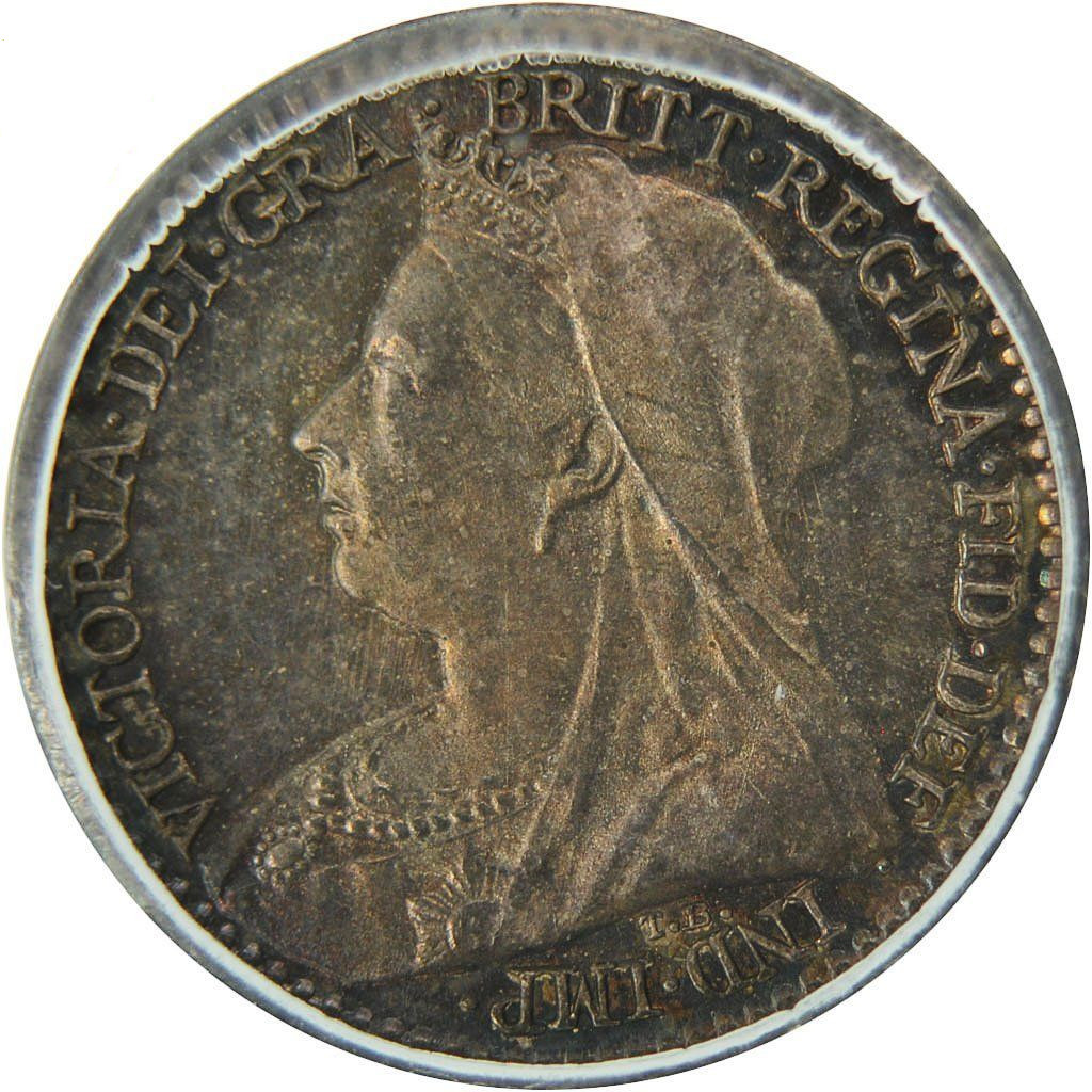 Penny 1898 (Maundy): Photo Coin, Great Britain, Victoria, Penny, 1898