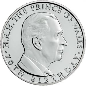 United Kingdom / Five Pounds 2018 Prince Charles - reverse photo