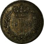 United Kingdom / Penny 1874 (Maundy) - reverse photo