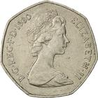 United Kingdom / Fifty Pence 1980 - obverse photo