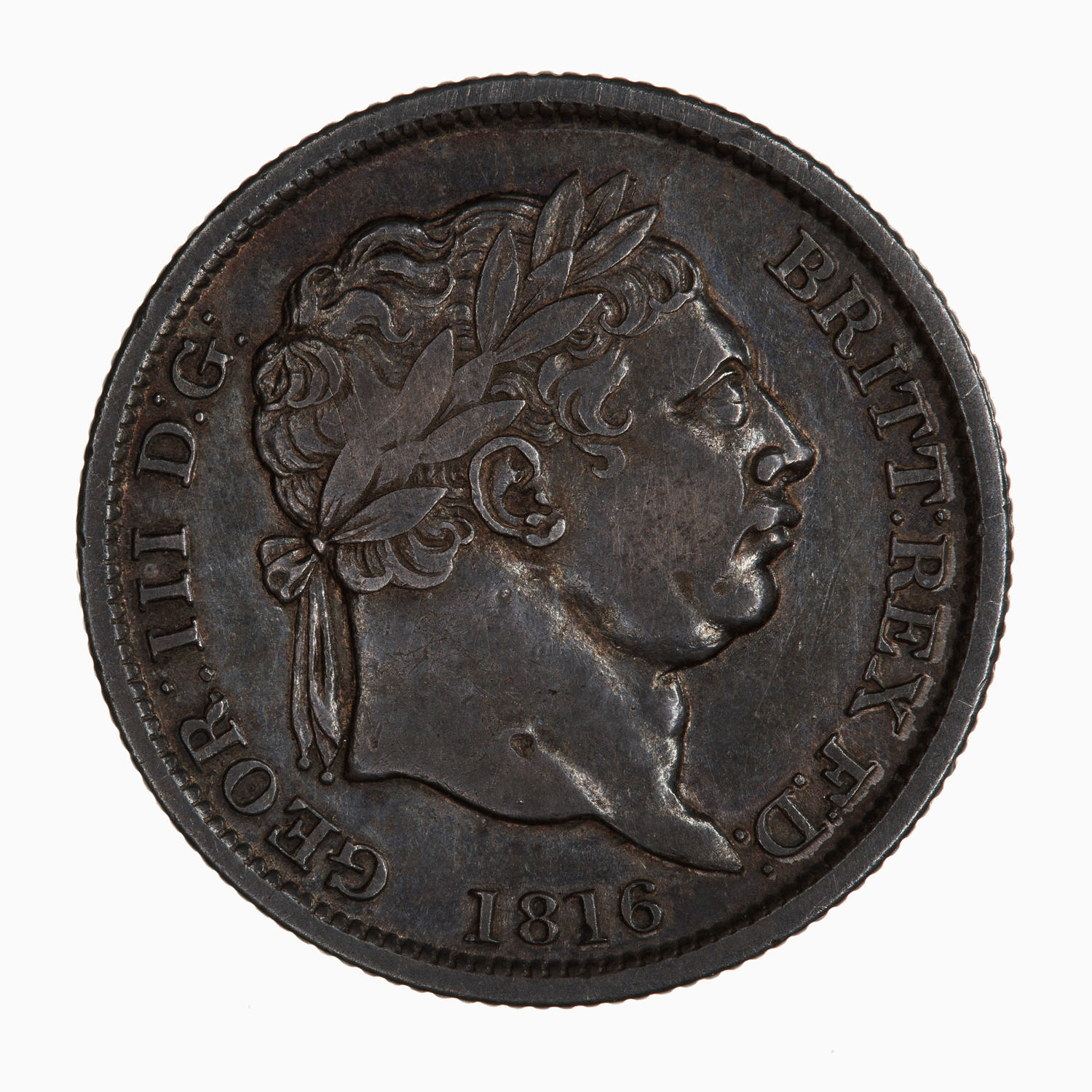Shilling George III: Photo Coin - Shilling, George III, Great Britain, 1816