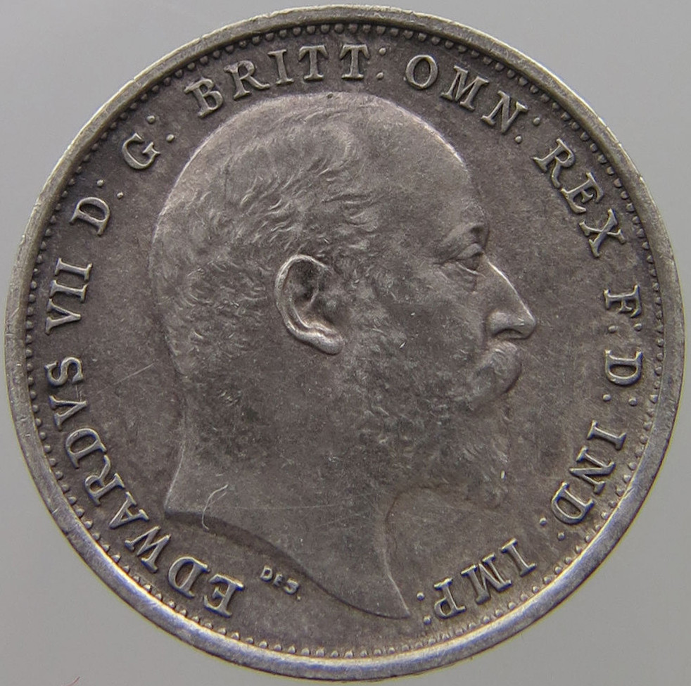 Maundy Fourpence (Pre-decimal): Photo Great Britain 4 Pence 1902