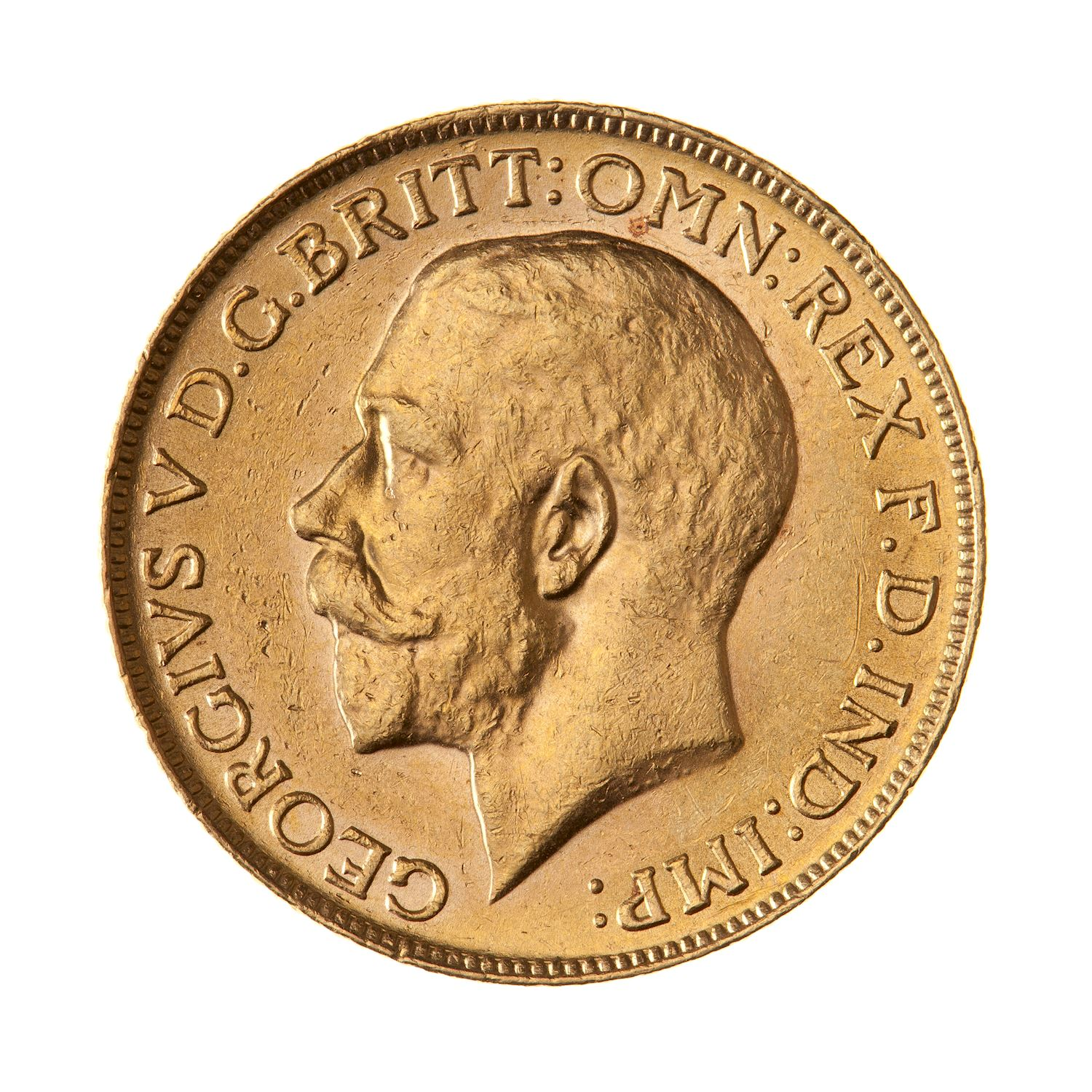 Sovereign (Pre-Decimal): Photo Coin - Sovereign, Canada, 1918