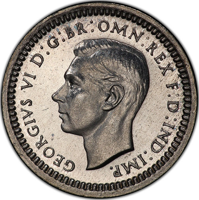 Penny 1946 (Maundy): Photo Great Britain, George VI, 1946, Maundy Penny