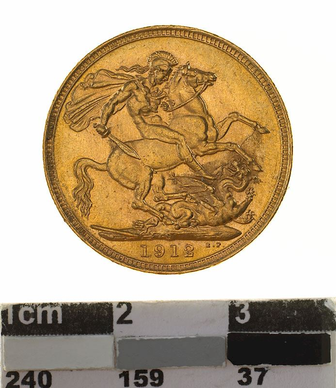 Sovereign 1912: Photo Coin - Sovereign, New South Wales, Australia, 1912