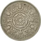 United Kingdom / Two Shillings (Florin) 1963 - reverse photo