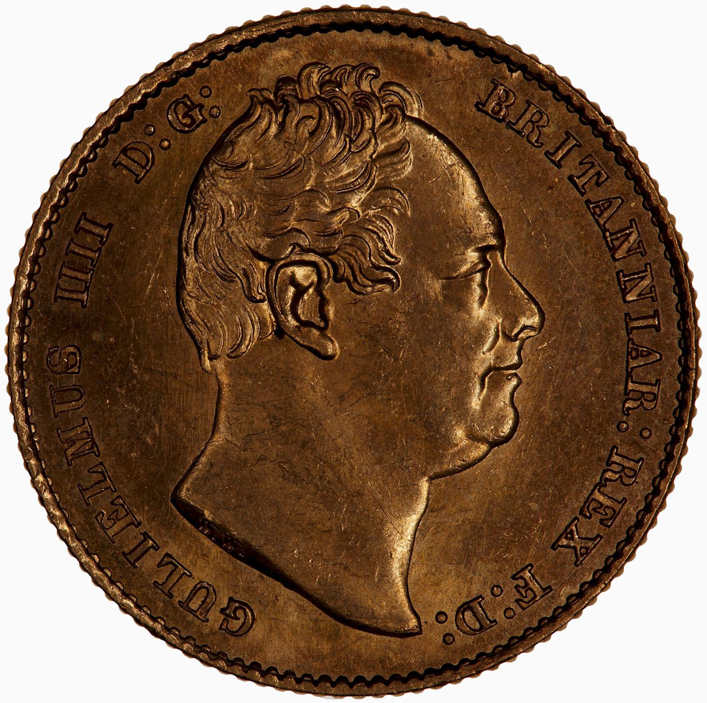 Sovereign 1833: Photo Coin - Sovereign, William IV, Great Britain, 1833