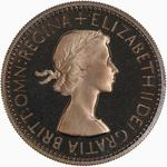 Shilling 1953 English: Photo Proof Coin - Shilling, Elizabeth II, Great Britain, 1953
