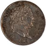 United Kingdom / Threepence 1818 (Circulating) - obverse photo