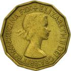 United Kingdom / Threepence 1953 (Brass) - obverse photo