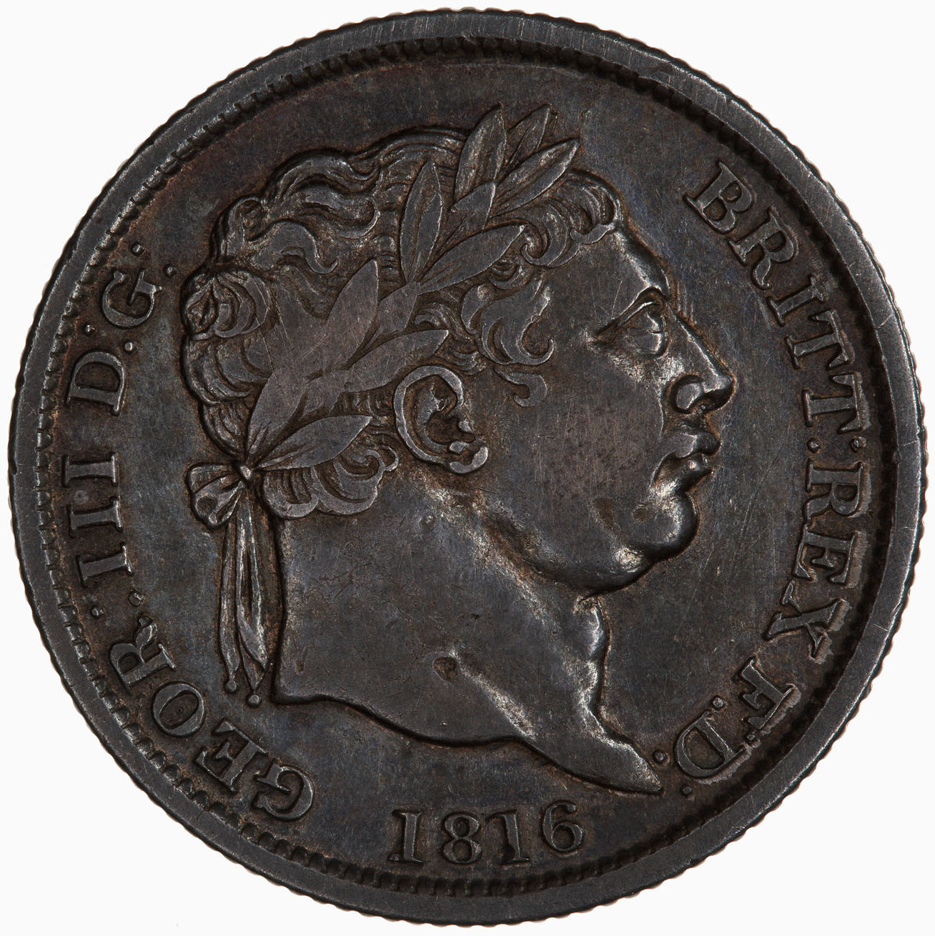 Shilling: Photo Coin - Shilling, George III, Great Britain, 1816