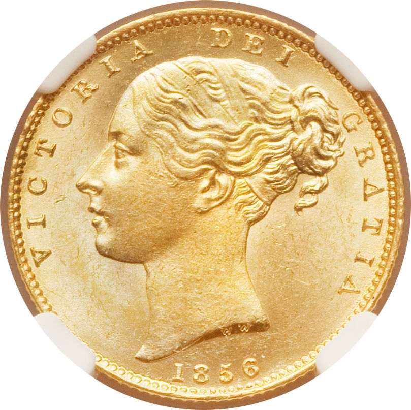 Sovereign 1856: Photo Great Britain 1856 sovereign
