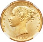 United Kingdom / Sovereign 1856 - obverse photo