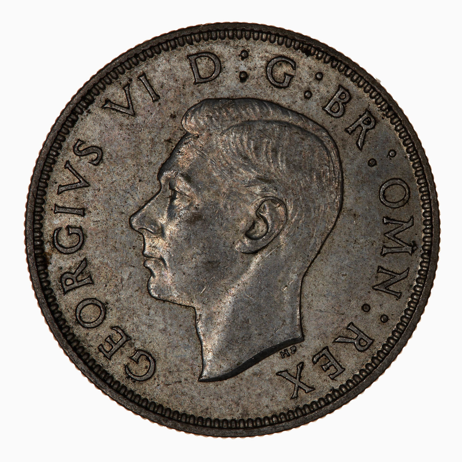 Two Shillings (Florin) 1937: Photo Coin - Florin (2 Shillings), George VI, Great Britain, 1937