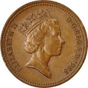 United Kingdom / One Penny 1988 - obverse photo