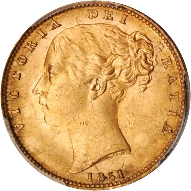 Sovereign 1851: Photo Great Britain 1851 sovereign