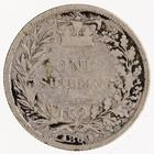 Shilling 1869: Photo Silver shilling, Great Britain