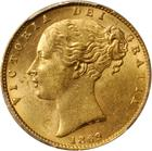 United Kingdom / Sovereign 1869 - obverse photo