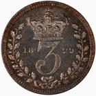 Threepence 1829 (Maundy): Photo Coin - Threepence, George IV, Great Britain, 1829