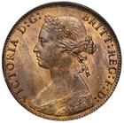United Kingdom / Halfpenny 1875 - obverse photo