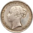 United Kingdom / Shilling 1855 - obverse photo