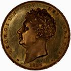 Five Pounds 1826 (Proof only): Photo Coin - 5 Pounds, George IV, Great Britain, 1826