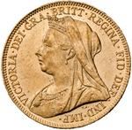 Sovereign 1901: Photo Gold sovereign, London (England)