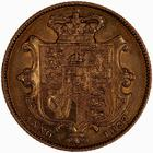 United Kingdom / Sovereign 1837 William IV - reverse photo