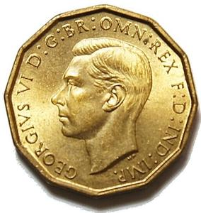 United Kingdom / Threepence 1938 (Brass) - obverse photo