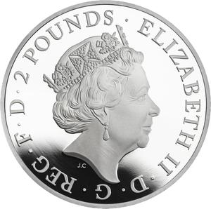 United Kingdom / Silver Ounce, One year types - obverse photo