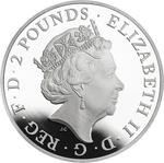 United Kingdom / Silver Ounce 2017 Lion of England - obverse photo
