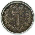 United Kingdom / Penny 1845 (Maundy) - reverse photo