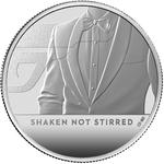 United Kingdom / Silver Ounce 2020 James Bond, Shaken not Stirred - reverse photo